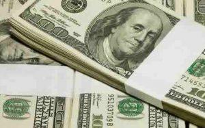 Billetes de dólar - Bonar 2020
