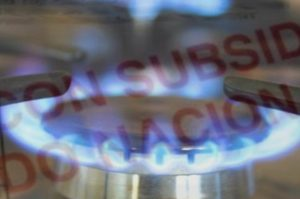 Gas con subsidios