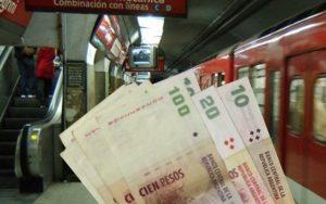 La empresa Metrovías descuenta 440 pesos del sueldo