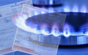 pagar facturas de gas en dos cuotas