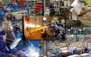 producción de pymes industriales
