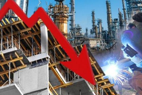 cayó industria y construcción