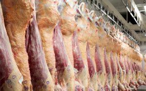 Carne en frigorífico