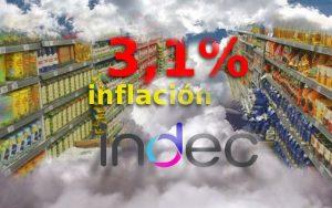 INDEC: inflación en junio de 3,1%