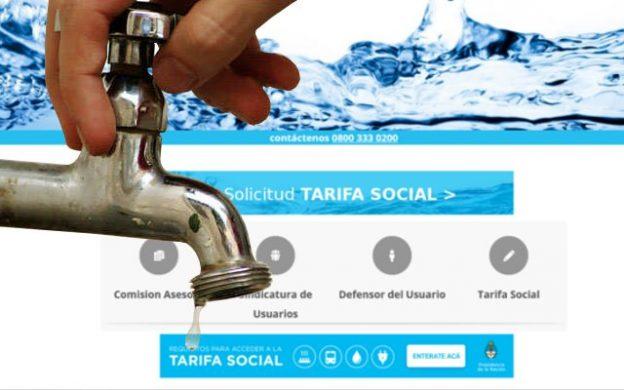 Programa de Tarifa Social para el Agua