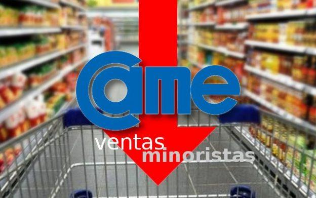 CAME: ventas minoristas cayeron en julio