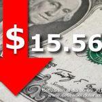 30/09/2016 baja el d�lar $15,56