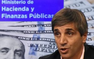 Luis Caputo a cargo de la Secretaría de Finanzas