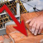 Cayó el empleo formal en la construcción