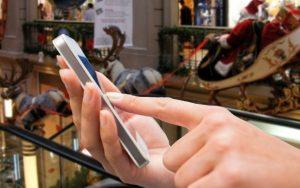 pago por celular en compras en navidad