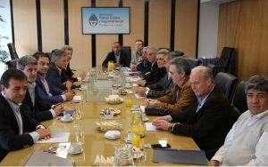 reunión de la CGT con el Gobierno