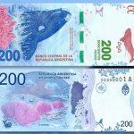 billete de 200 pesos argentinos