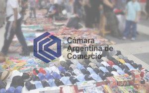 CAC bajó la venta callejera informal