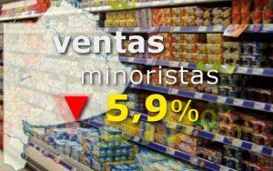 Cayó 5,9% ventas minoristas en la provincia de Buenos Aires