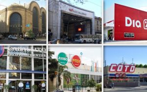 ventas crecieron en supermercados y shoppings