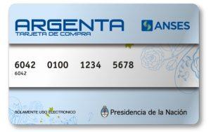 Tarjeta Argenta