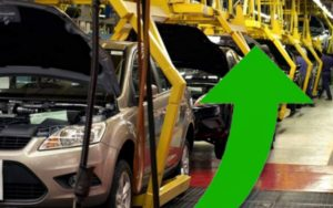 Creció la producción automotriz
