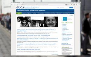 La precariedad laboral según informe de la UCA