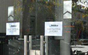 Bancarios anunciaron un paro