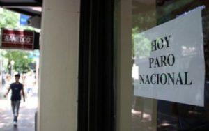 paro nacional bancario