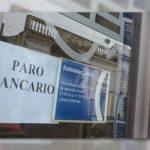 Paro parcial en bancos