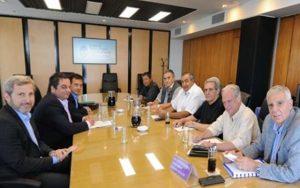 reunión entre el Gobierno y la CGT