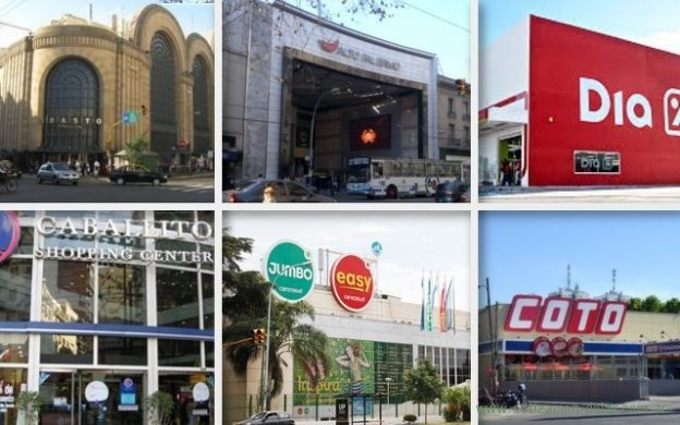 shoppings y supermercados