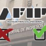 AFIP califica contribuyentes