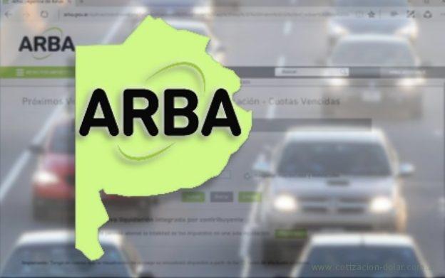 ARBA pago patentes