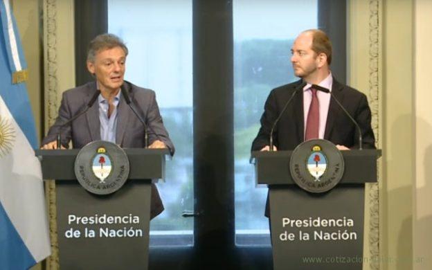 Conferencia de prensa de Francisco Cabrera y Miguel Braun