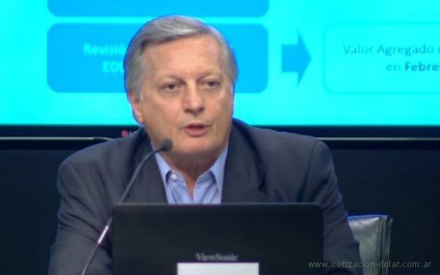 Conferencia del Ministro de Energía Juan Aranguren por aumento de tarifas