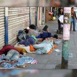 pobreza: durmiendo en la calle