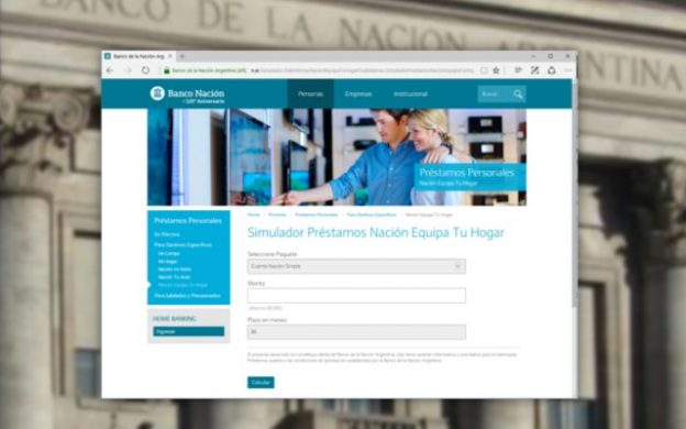 Banco Nación Equipa tu Hogar
