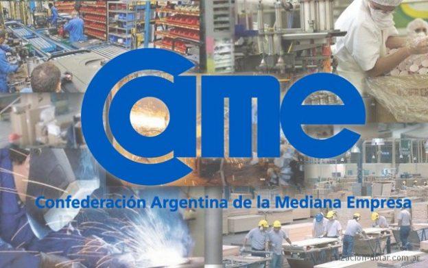 CAME: cayo la producción industrial
