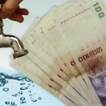 aumento de tarifa del agua
