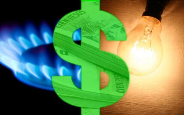 aumento tarifas de gas y luz