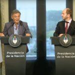 conferencia ministro de Producción, Francisco Cabrera