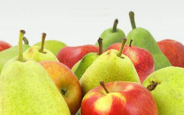 producción manzanas y peras