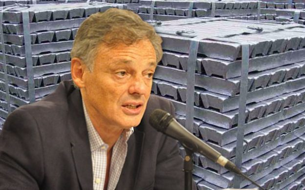 Cabrera: precio aluminio primario