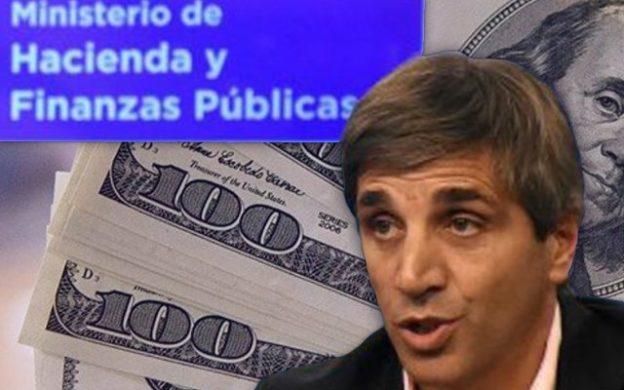 Luis Caputo, Ministerio de Hacienda