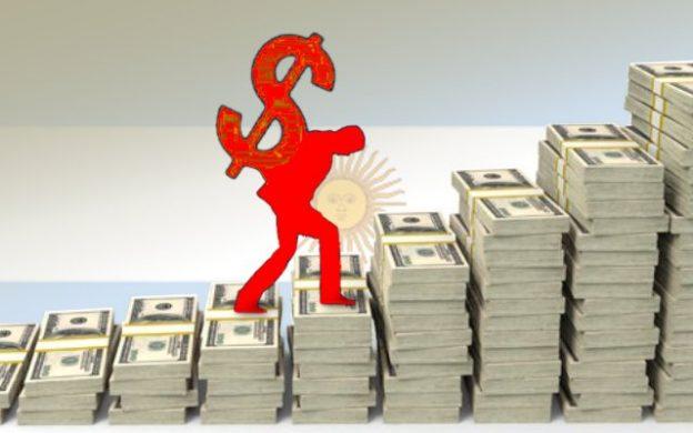 aumento deuda en dólares