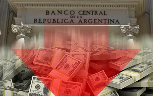 Bajan las reservas del Banco Central