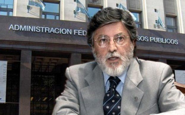 Titular de la AFIP, Alberto Abad