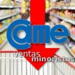 CAME: caída de las ventas minoristas