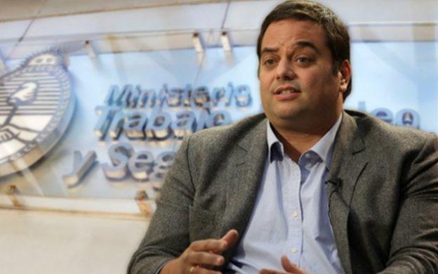 Jorge Triaca, Ministerio de Trabajo, Empleo y Seguridad Social