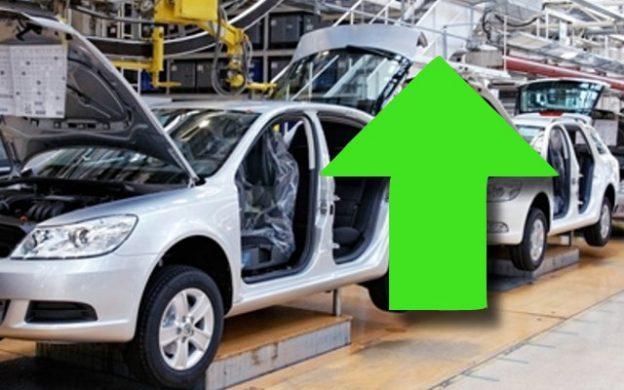 Sube la producción automotriz