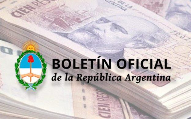 Boletín Oficial, ampliación del presupuesto
