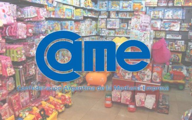 CAME: ventas de juguetes