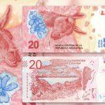 nuevos billete de 20 pesos