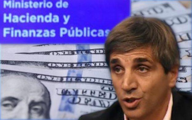 Ministro de Finanzas, Luis Caputo